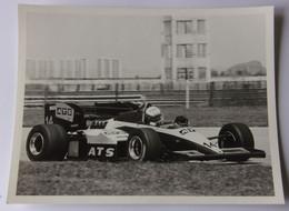 Manfred WINKELHOCK - A.T.S. / B.M.W. 1984 - Automobilismo - F1