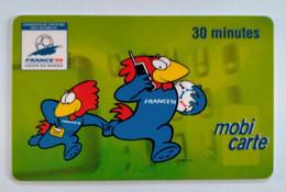 MOBICARTE  30 Minutes- France 98 - Kaarten Voor De Telefooncel (herlaadbaar)