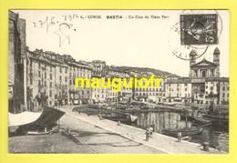 20 2B HAUTE CORSE / BASTIA / UN COIN DU VIEUX PORT / 1912 - Bastia