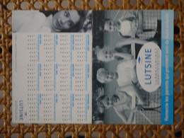 LUTSINE   TENNIS   CALENDRIER 2004 - Unclassified