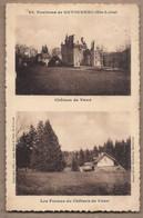 CPA 43 - VAUX - Environs De RETOURNAC - TB CP 2 Vues : Château De Vaux Et Les Fermes Du Château De Vaux - Altri Comuni