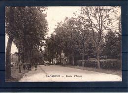 21. Lacanche. Route D'arnay. Pliure Visible Au Dos - Altri Comuni