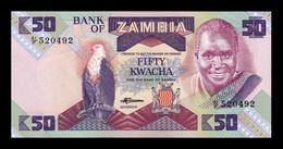 Zambia 50 Kwacha 1986-1988 Pick 28 SC UNC - Zambia