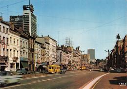 Belgique Bruxelles Boulevard Botanique Brussel Kruidtuin Laan CPSM GF Tram Tramway Combi Volkswagen - Corsi