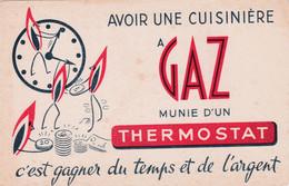 """BUVARD - Cuisnière à """"GAZ"""" Avoir Une Cuisinière à Gaz Munie D'un Thermostat C'est Gagner Du Temps Etc... - Electricity & Gas"""
