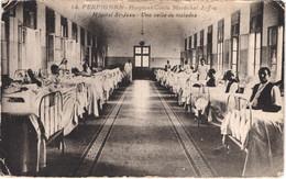 FR66 PERPIGNAN - Couderc - Hospices Civils Maréchal Joffre 14 - Hôpital Saint Jean - Une Salle Des Malades - Animée - Perpignan