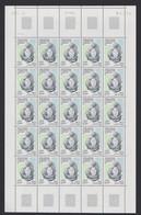 TAAF - Feuille Entière De 25 Timbres Neufs** - N° 278 - Daté Du 13/08/1999 - Qualité Poste - Ongebruikt