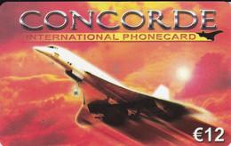 TARJETA DE HOLANDA DEL AVION CONCORDE (PLANE) - Vliegtuigen