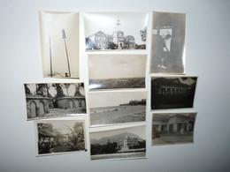 VIET-NAM ANNAM SAIGON SHANGAI LOT 10 PHOTOS TOUTES LEGENDEES ANNEE 1920 A 1929 - Vietnam
