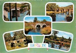 CPSM BRETAGNE - Multivues : Les Ponts    L539 - Bretagne