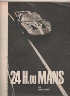 24 H Du Mans 1966 - Automobilismo - F1