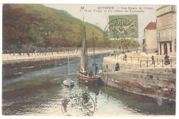 CPA 29 - QUIMPER (Finistère) - 58. Les Quais De L'Odet, Le Mont Frugy Et Les Allées De Locmaria - Quimper