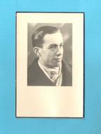 DOODSPRENTJE - PIERRE DE MOL  ECHT. MARIA BOEYKENS (° LEBBEKE 1926 + BUGGENHOUT-OPSTAL 1956) (2scans)  (DV 588) - Avvisi Di Necrologio