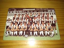 "Calendar Of Pocket  "" Futebol, Soccer - Varzim Sport Clube "" Advertising 1987 - Formato Piccolo : 1981-90"