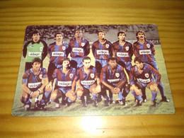 """Calendar Of Pocket  """" Futebol, Soccer - Grupo Desportivo De Chaves """" Advertising 1987 - Formato Piccolo : 1981-90"""