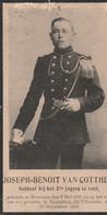 ABL , Joseph Benoit Van Cotthem ,geboren Te Meerbeke Den 2 Mei 1893 Eppeghem Bij Vilvoorde 12 Septembre 1914 - Obituary Notices
