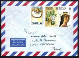 LETTRE EN PROVENANCE DE TUVALU - - Tuvalu
