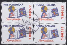 RUMÄNIEN ROMANIA [2002] MiNr 5676 4er ( O/used ) Briefmarken - Usado