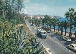 SAN REMO - IMPERIA - PASSEGGIATA A MARE E VIA AURELIA - BUS / FILOBUS / CORRIERA / TRAM - 1963 - San Remo
