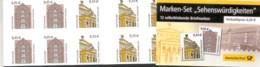 Markenheftchen Bund Postfr. MH 50 A A Sehenswürdigkeiten MNH ** - Booklets