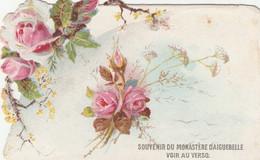 "Chromo Découpis "" Souvenir Du Monastère D'Aiguebelle"" - Aiguebelle"