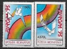 Roumanie 1995 N° 4244/4245 Neufs Europa Paix Et Liberté - 1995
