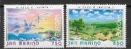 Saint Marin 1995 N° 1396/1397 Neufs Europa Paix Et Liberté - 1995