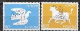 Suisse 1995 N° 1480/1481 Neufs Europa Paix Et Liberté - 1995
