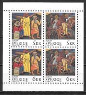 Suède 1995 N° 1853/1856 Neufs Europa Paix Et Liberté - 1995
