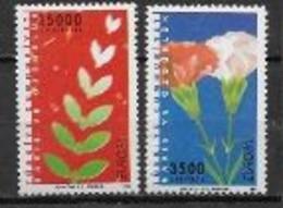 Turquie 1995 N° 2795/2796 Neufs Europa Paix Et Liberté - 1995