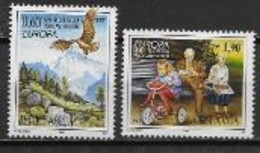 Yougoslavie 1995 N° 2572/2573 Neufs Europa Paix Et Liberté - 1995