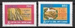 Vatican 1995 N° 998/999 Neufs Europa Paix Et Liberté - 1995