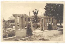 Cpa Hérault - Pomerols - Le Square De La Gare ... - Other Municipalities