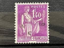 FRANCE  YT 371. Oblitéré. Année 1937/39. Côte 6.00 € - 1932-39 Vrede