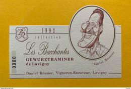 13585 - Les Bacchantes Gewurztraminer De Lavigny 1992 Daniel Rossier - Moustaches