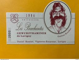 13099 - Les Bacchantes 1994 Gewurztraminer De Lavigny Gaëtan Boucher Hockeyeur - Snorren