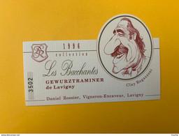 13079 -  Les Bacchantes 1996 Gewurztraminer De Lavihny Clay Regazzoni Pilote De Formule 1 - Snorren