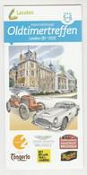 Brochure-leaflet Internationaal Oldtimertreffen Lanaken (B) 2020 - Andere