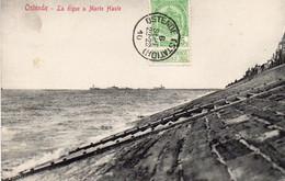 Oostende / Ostende - La Digue à Marée Haute - Oostende