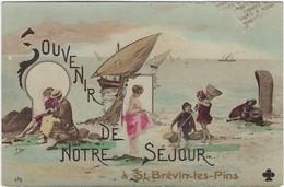 44    Saint Brevin Les Pins  -  Souvenir De Notre Sejour - Saint-Brevin-l'Océan