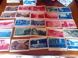 25 CARTES MENU LE BEAU PAYS  DE FRANCE  PRESENTE PAR  COINTREAU  MAIS LE MENU A ETE DECOUPER - 5 - 99 Postkaarten