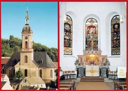1 AK Germany / Sachsen * Evangelische Kirche St. Laurentius In Lichtenstein * - Lichtenstein