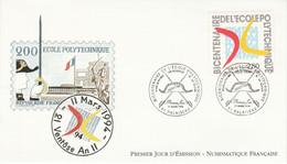 FDC 1994 BICENTENAIRE POLYTECHNIQUE - 1990-1999