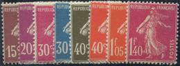 Lot N°2421 Poste N°189/96 Neuf ** Luxe - Unused Stamps