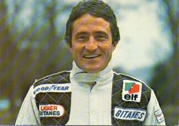 Automobile, Voiture - PATRICK DEPAILLER. Pilote LIGIER GITANES JS 11 Formule 1 - 1979 - Grand Prix / F1