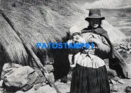 159011 PERU CUZCO COSTUMES GRUPO HUCH'UY RUNA NATIVE POSTAL POSTCARD - Peru