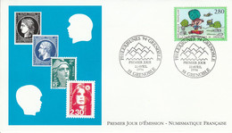 FDC 1994 PHILEXJEUNES GRENOBLE - 1990-1999