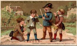 CHROMO CHOCOLAT GUERIN BOUTRON  L ECOLE BUISSONNIERE - Guerin Boutron