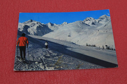 Aosta La Thuile Campo Sci E Lo Skilift 1975 - Otras Ciudades