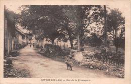 CONTREVOZ - Rue De La Fromagerie - Autres Communes